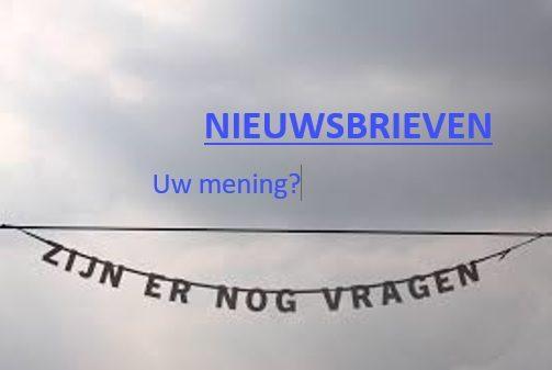 "BNK-Nieuwsbrief Nr. 1 / ""enquête"""