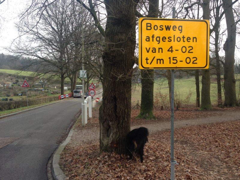 Bosweg : werkzaamheden binnenkort van start !