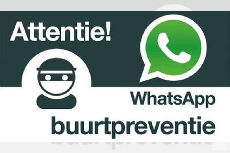 Informatie over mogelijkheden van WhatsApp buurtpreventie