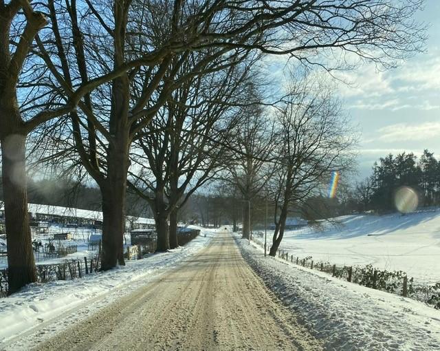 De laatste sneeuwplaatjes van dit jaar?