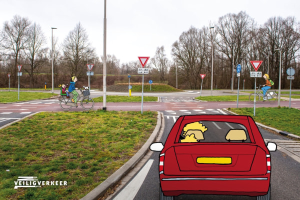 Situatiegerichte Quiz van Veilig Verkeer Nederland voor de Gemeente Arnhem